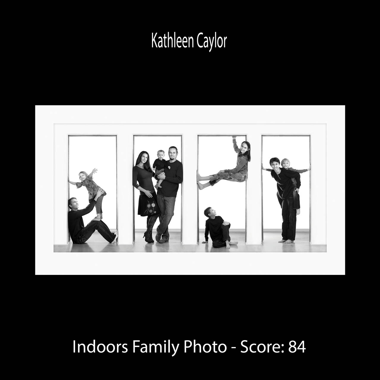 Page 6 Caylor Kathleen Indoors Family Photo